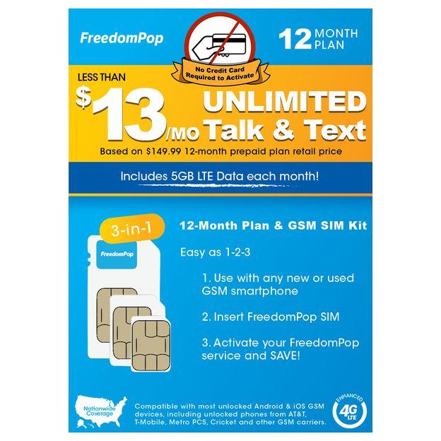 Pre-paid LTE SIM Cards